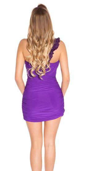 Dámske šaty 78020, fialová, UNIVERZáLNA
