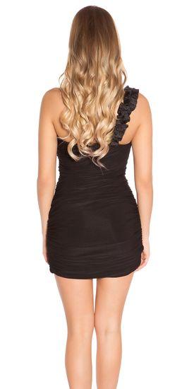 Női ruha 78021, fekete, UNIVERZáLIS
