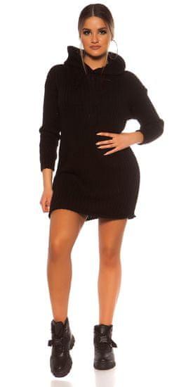 Női ruha 78688, fekete, UNIVERZáLIS