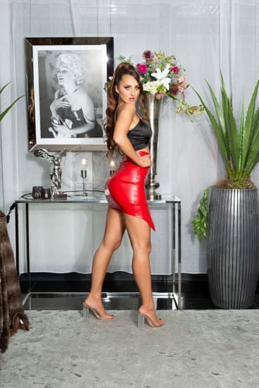 Női szoknya 79916, piros, XL