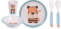 Koopman otroški jedilni komplet TYGR, 5-delni