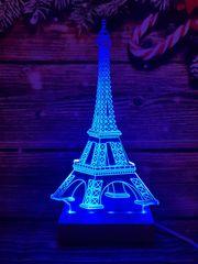 LANDX Světelná LED dekorace – Eiffelova věž