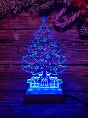 LANDX Světelná LED dekorace – Vánoční stromeček