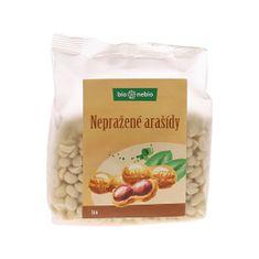 bio nebio Bio arašídy loupané nepražené 200g