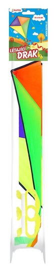 Drak lietajúci nylonový - 72 x 72 cm