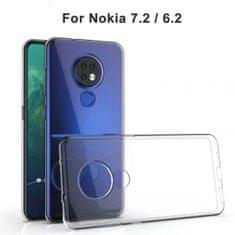 Ovitek za Nokia 6.2/7.2, silikonski, prozoren