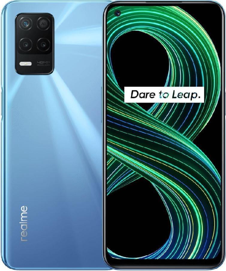 realme 8 5G, 6GB/128GB, Supersonic Blue