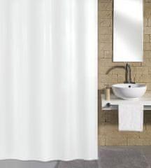 Kleine Wolke zavesa za tuš Kito, 180x200 cm, bela