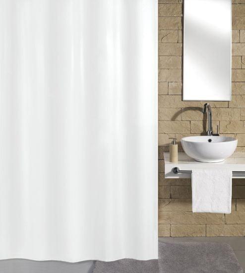 Kleine Wolke Kito zuhanyfüggöny, 180x200cm, fehér