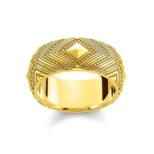 Thomas Sabo prstan   rumeno zlate barve, Srebro   925 srebra, pozlačeno rumeno zlato