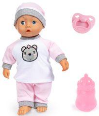 Bayer Design lutka Kiss Baby, 36 cm, bela/roza