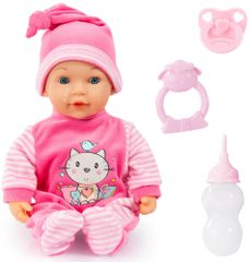 Bayer Design Lalka Tears Baby 38 cm różowa