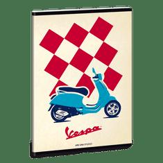 Ars Una Ars Una Sešit Vespa A5 linkovaný squares