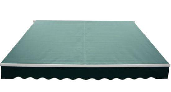 Rojaplast Markíza 3,95x2,5m P4501 tm.zelená