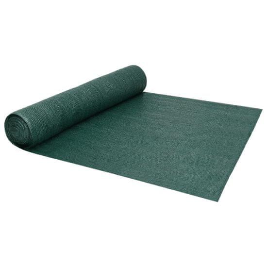 shumee Siatka cieniująca, zielona, 1,5x10 m, HDPE, 150 g/m²
