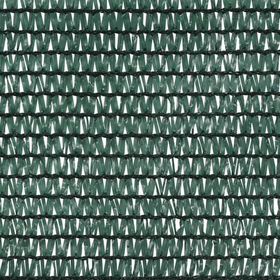 shumee zöld HDPE belátásgátló háló 1,5 x 25 m 75 g/m²