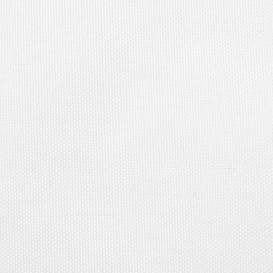 shumee fehér téglalap alakú oxford-szövet napvitorla 6 x 7 m