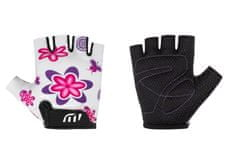 Wista Cyklistické rukavice WISTA dětské bílá– 80202 5-6