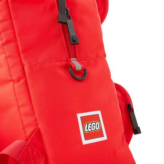 LEGO Signature Brick 1x2 nahrbtnik, rdeč