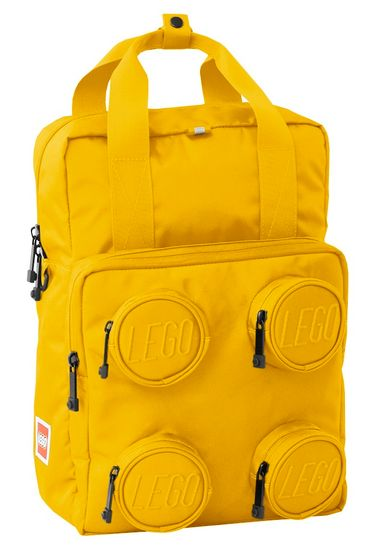 LEGO Signature Brick 2x2 ruksak, žuti