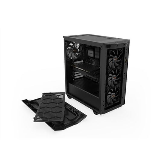 Be quiet! Pure Base 500DX ohišje, Midi ATX, črno