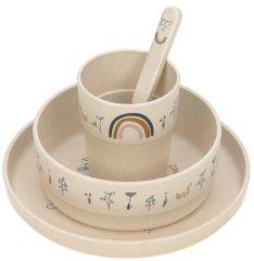 Lässig Dish Set PP/Cellulose Garden Explorer