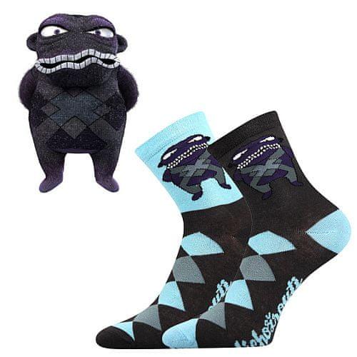 Fuski - Boma ponožky Lichožrouti K Barva: HIHLÍK, Velikost: 27-32 (18-21)