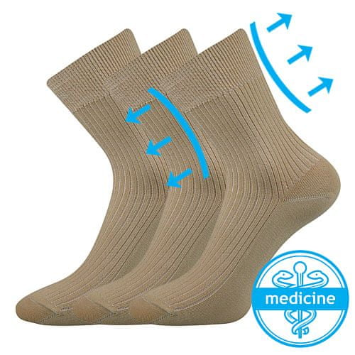Fuski - Boma ponožky Viktorka Barva: Béžová, Velikost: 35-37 (23-24)