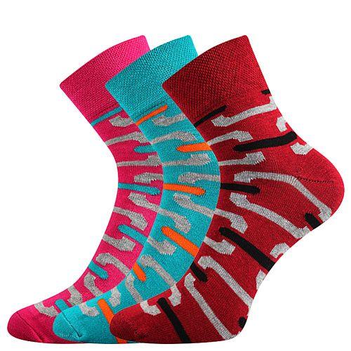 Fuski - Boma ponožky Jana 49 Barva: mix A, Velikost: 35-38 (23-25)