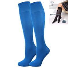 Fuski - Boma podkolenky MICRO knee-socks 50 DEN Barva: ibiza blue, Velikost: uni