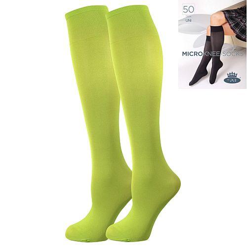 Fuski - Boma podkolenky MICRO knee-socks 50 DEN Barva: nero, Velikost: uni