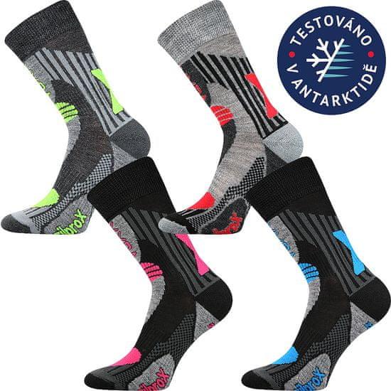 Fuski - Boma ponožky Vision Barva: černá - magenta, Velikost: 35-38 (23-25)
