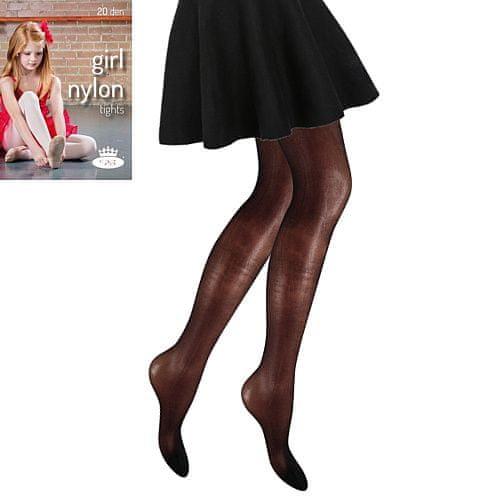 Fuski - Boma punčochové kalhoty GIRL NYLON tights 20 DEN Barva: beige, Velikost: 98-104