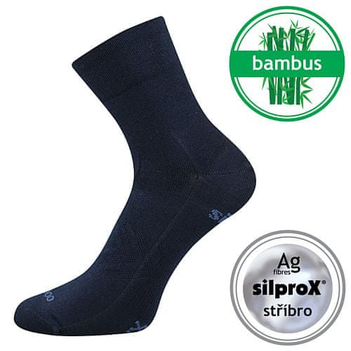 Fuski - Boma ponožky Baeron Barva: Černá, Velikost: 35-38 (23-25)