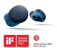 Sony WF-XB700 Bluetooth slušalke, modre