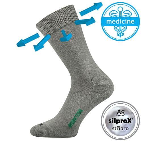 Fuski - Boma ponožky Zeus zdrav. Barva: Bílá, Velikost: 47-50 (32-34)