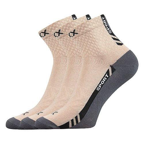 Fuski - Boma ponožky Pius Barva: Béžová, Velikost: 35-38 (23-25)