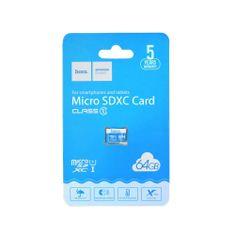 Hoco Spominska kartica microSD TF High Speed Memory 64 GB Class 10