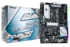 ASRock B560 Steel Legend osnovna plošča, LGA1200, ATX