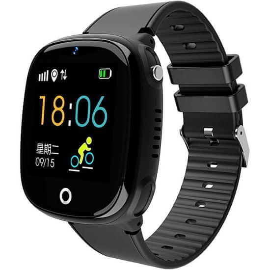 Wotchi Dětské Smartwatch W11B s fotoaparátem - Black