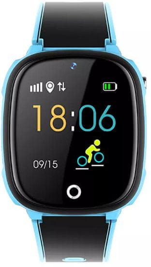 Wotchi Dětské Smartwatch W11E s fotoaparátem - Blue