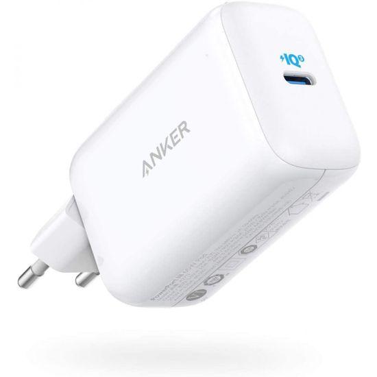 Anker PowerPort III 65W Pod potovalni polnilec z EU, UK in US adapterjem (A2712H21)