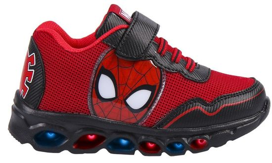 Disney fiú világító tornacipő Spiderman 2300004994