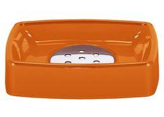 Kleine Wolke Easy posoda za milo, oranžna