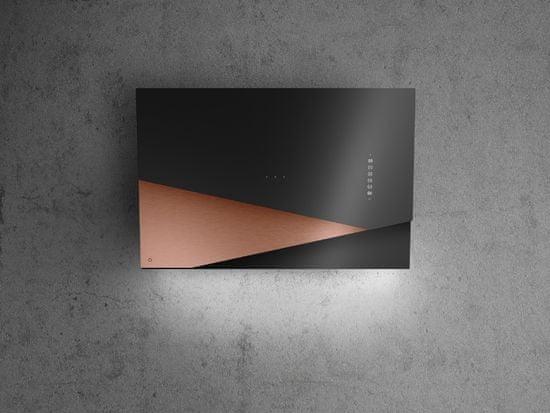 Ciarko Design Odsávač šikmý komínový Trio Copper (CDP9001CZ) + 4 roky záruka po registraci