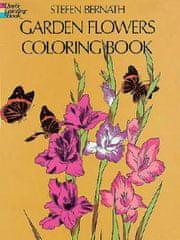 Garden Flowers Coloring Book