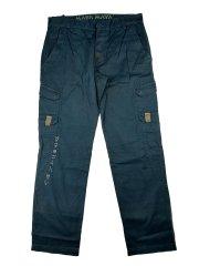 MAYA MAYA Moške cargo hlače Tukano - pohodne, treking, delovne - indigo zelene, XL
