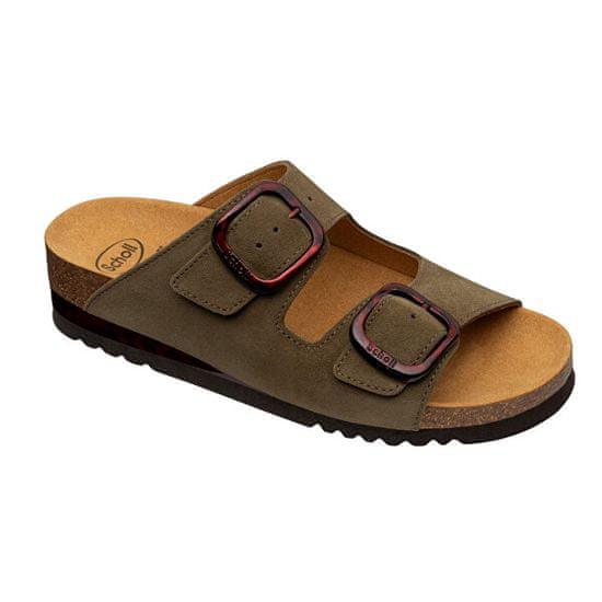 Scholl Zdravotná obuv - Ilari 2 STRAPS Sue-W - Olive