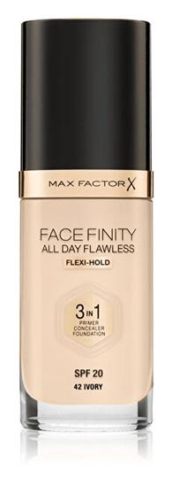 Max Factor Hosszan tartó smink Facefinity 3 az 1-ben (Hibátlan egész nap) 30 ml