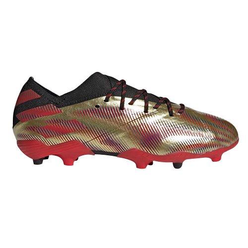 Adidas NEMEZIZ MESSI .1 FG, NEMEZIZ MESSI .1 FG | FY0806 | GOLDMT / Scarlata / CBLACK | 5-